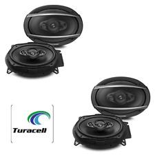 "4 - Pioneer TS-A6960F 6x9"" 4-Way 450W Max Car/Vehicle Speakers (2 Pair) NEW!"