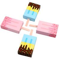 10x Ice Cream Shape DIY Gift Boxes Wedding Candy Box Ice Cream Party Supplies