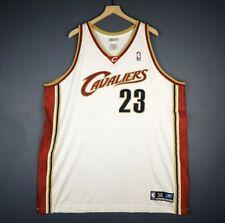 LeBron James Vintage Reebok NBA CLV Cavaliers #23 Jersey 2003-10 Sz 56 3XL NWT