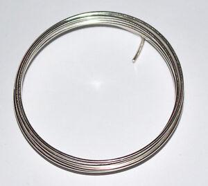 Draht Basteldraht • Silberdraht mit Kupferkern in 5 Stärken