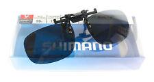 Shimano HG-019P Sunglasses Polarised Clip on Glasses Smoky 457448