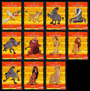 Topps' Disney Collect The Lion King 25th Anniversary Gold SR Set (No Award)