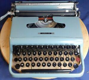 Macchina Da Scrivere Olivetti Lettera 22 - Prima Serie - Con Custodia