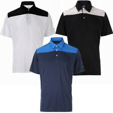 3 Pack Woodworm Golf Panel Polo Shirts � Mens Small