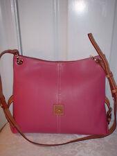 NWT Dooney & Bourke Frederica Leather Handbag Shoulder Bag Magenta