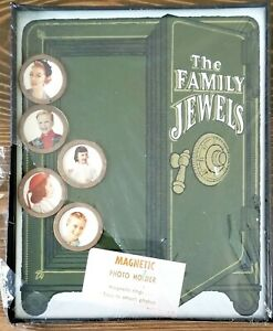 Vintage Sealed NEW Magnetic Photo Holder The Family Jewels Safe Pictures c1960s