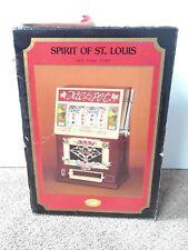 Vintage Spirit of St Louis Slot Machine AM / FM Transistor Radio Cassette Player