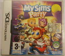 MY SIMS PARTY VIDEOGIOCO NINTENDO DS SIGILLATO