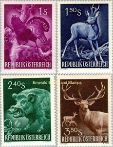 EBS Austria Österreich 1959 Hunting Congress - Wild Animals ANK 1079-1082 MNH**