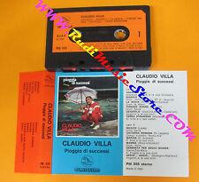 MC CLAUDIO VILLA Pioggia di successi 1980 italy PELLICANO PM555 no cd lp vhs*dvd