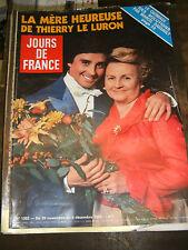 Jours de France N 1352 1980 Thierry Le Luron mae west incendie mm las vegas