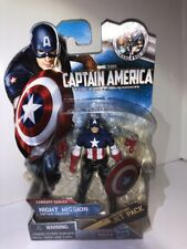 #14 NIGHT MISSION CAPTAIN AMERICA w/ JETPACK The First Avenger Concept Series
