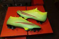 Nike Mercurial Vapor 13 Pro MDS FG Soccer Cleats SZ 7.5 Yellow Green CJ1296-703