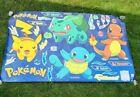 RARE Pikachu Charmander Bulbasaur Squirtle Pokemon Fathead Poster Decal 30 x 23