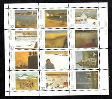FULL PANE 1984 CANADA DAY,  UC#1027a, 32c, 12 STAMPS,