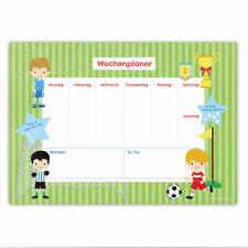Papierdrachen Schreibtischunterlage DIN A2 - Fußball