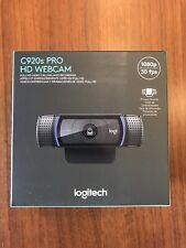 Logitech C920s Pro HD 1080p/30fps Webcam w/ Privacy Shutter - IN HAND