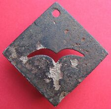 New listing Wwii - Military - German Luftwaffe Mail bags marking token 2 - more on ebay.pl