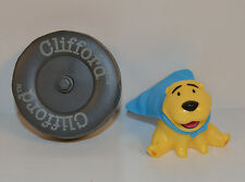 """2004 T-Bone 2"""" Action Figure & 3"""" Tire McDonald's Clifford The Big Red Dog"""