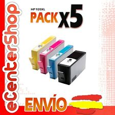 5 Cartuchos de Tinta NON-OEM HP 920XL - Officejet 7500 A