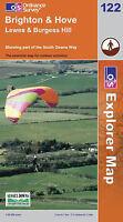 Brighton and Hove (Explorer Maps) (OS Explorer Map),Ordnance Survey,Good Book mo