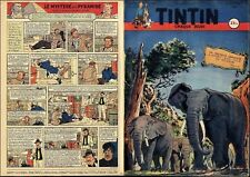 TINTIN 1951 FR n° 155 04/10/1951 BE+/TBE