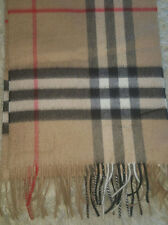 Genuine Burberry Classic Cashmere Scarf in Check RRP £350