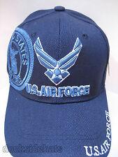 U.S. AIR FORCE VETERAN Cap/Hat Blue New Adjustable Military