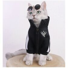 Pet Cat Dogs Warm Clothes Coats Jacket Hoodies For Cats Outfit Warm Pet Costume