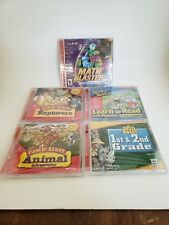 5PK SCHOLASTIC PC/CDROM LEARNING ACTIVITY GAMES
