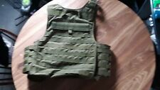 black hawk bullet proof vest , plate carrier