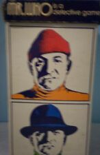 Mr. Who Detective card board game by 3M 1973 Complete