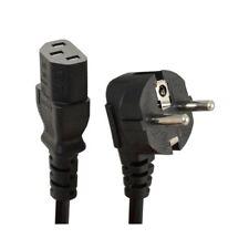 UKDJ 1.8m C13 IEC Kettle to European 2 Pin Schuko AC EU Plug Power Cable Lead