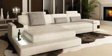 Ledersofa Sofa Couch Polster Eck Garnitur L Form Sitzecke Bellini Textil Stoff