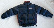 "vtg Tommy Hilfiger Board Sports,4"" thick puffer DOWN ski jacket/parka,mens S"