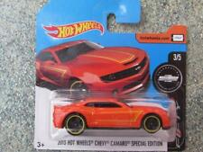 Hot Wheels 2017 #246/365 2013 CHEVY Camaro édition spéciale rouge Camaro 50yrs