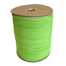 Neon Green Paracord 1000 Ft Spool Mil Spec Outdoor Rope Parachute Cord Tie Down