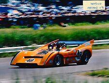 DAN GURNEY WINNER McLAREN M8D 1970 ST JOVITE CAN-AM RACE INDY 500 8 X10 PHOTO 9A