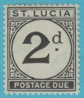 ST. LUCIA J4 MINT HINGED * OG NO FAULTS EXCELLENT