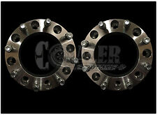 "2pc 2"" Skid Steer Wheel Spacers for 8 Lug Bobcat Case CAT John Deere New Holland"