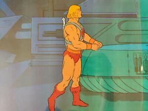 💪 Masters Of The Universe animation art cartoon cel Filmation MOTU He-Man