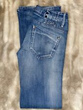 Womens G Star Raw Fitted Jeans Size 28/34