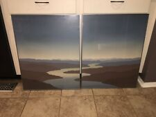"Scott Nellis Blue Mesa  I, II"" 2 Hand Signed & Numbered Art Serigraphs"