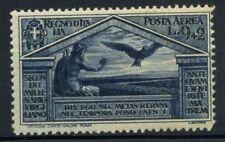 Italia Regno 1930 Sass. A24 Nuovo ** 100% Posta Aerea Virgilio 9 l.
