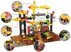 Chad Valley Lights and Sounds Construction Playset with Spiral Ramp