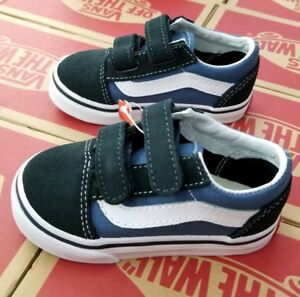VANS OLD SKOOL V NAVY TODDLER VN000D3YNVY