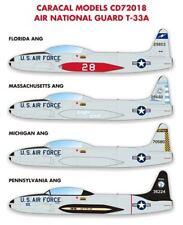 Caracal 1/72 Air National Guard Lockheed T-33 # 72018