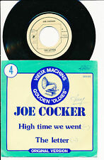 "JOE COCKER 45 TOURS 7"" BELGIUM HIGH TIME WE WENT"