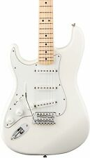 Fender Standard Stratocaster Left Handed  Electric Guitar Arctic White Gloss