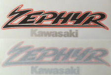 KAWASAKI ZEPHYR ZR550 ZR750 ZR1100 PETROL TANK DECALS 2